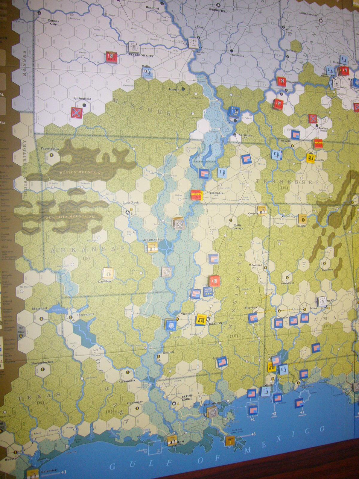 YSGA8月例会の様子その4〔(GMT)The U.S. Civil War 海軍ルール込み1862年シナリオ〕_b0173672_20021064.jpg