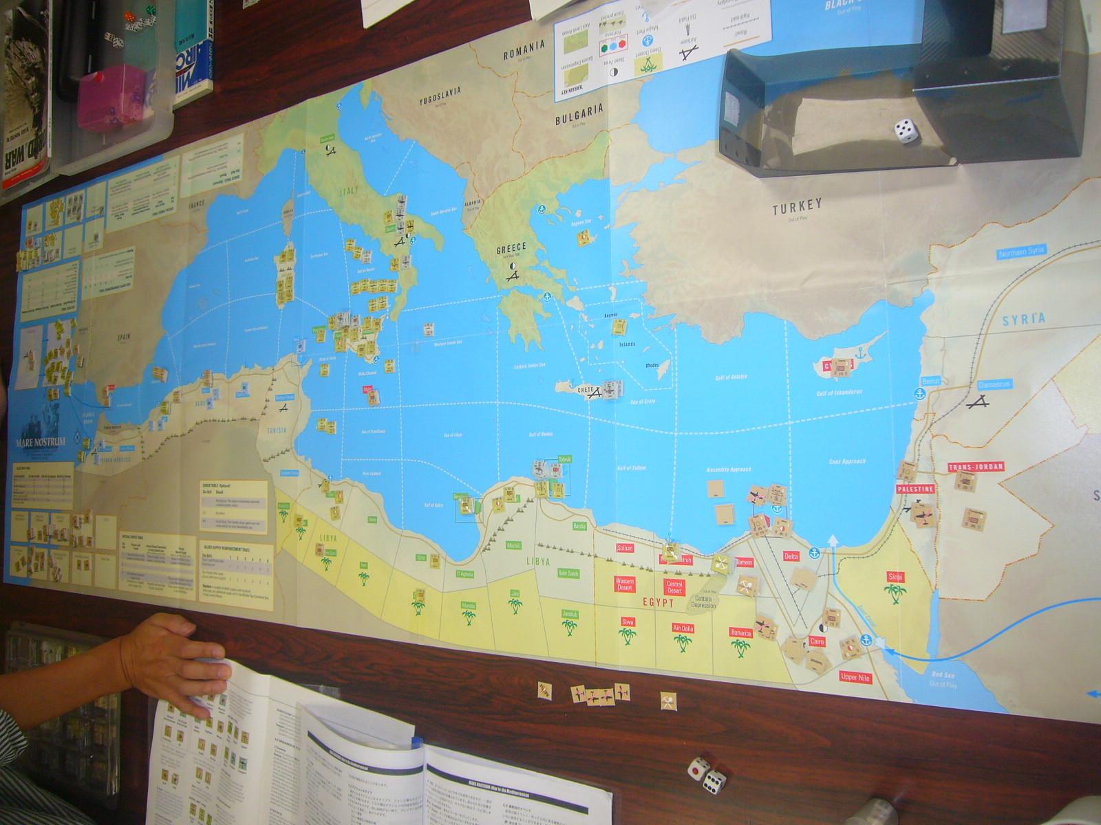 YSGA8月例会の様子その5〔これもひとつの地中海キャンペーン:(WaW誌)Mare Nostrum: War in the Mediterranean〕_b0173672_20091666.jpg