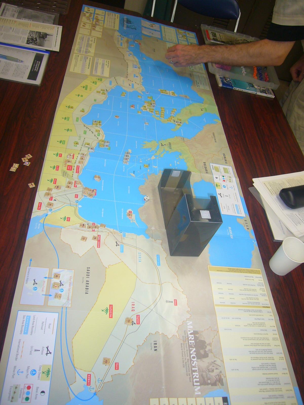 YSGA8月例会の様子その5〔これもひとつの地中海キャンペーン:(WaW誌)Mare Nostrum: War in the Mediterranean〕_b0173672_20091695.jpg