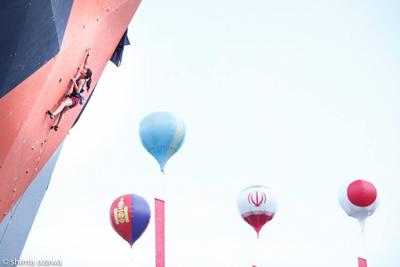 金栄堂サポート:クライミング・大田理裟選手 アジア選手権ご報告&インプレッション!_c0003493_16104966.jpg
