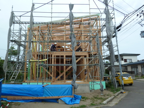 Q1住宅モデル能代_f0150893_1782493.jpg