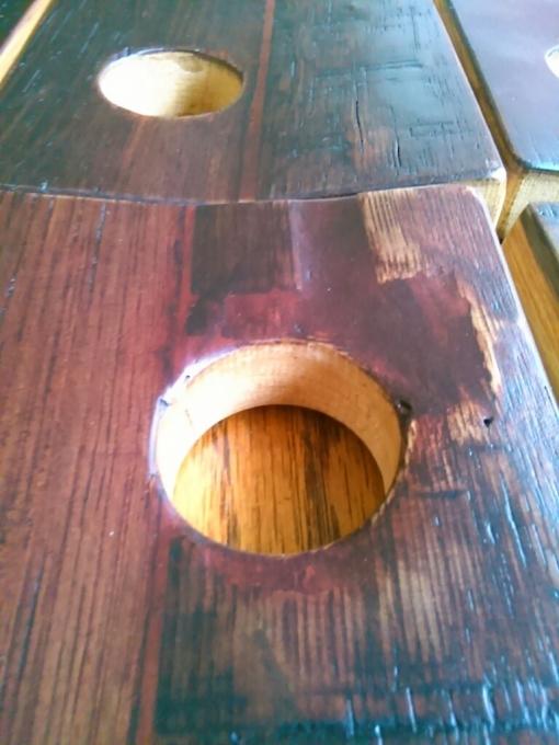 < ワイン樽から和吉板へ… > その1_d0351396_16320158.jpg