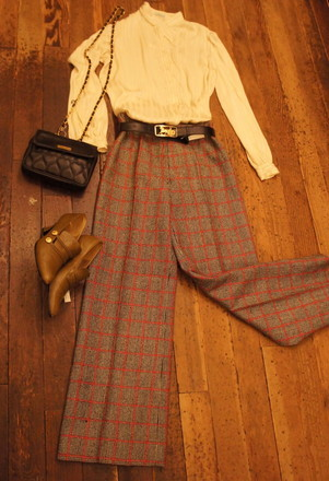Autum CHECK (Pants)_f0144612_11352601.jpg