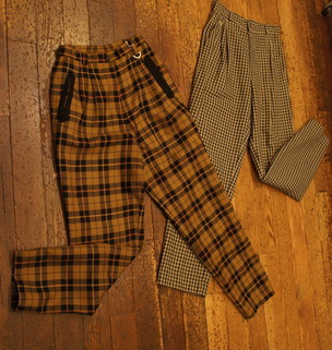 Autum CHECK (Pants)_f0144612_11422645.jpg