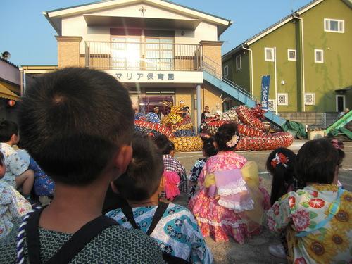 納涼祭を行いました。_f0227821_1430333.jpg