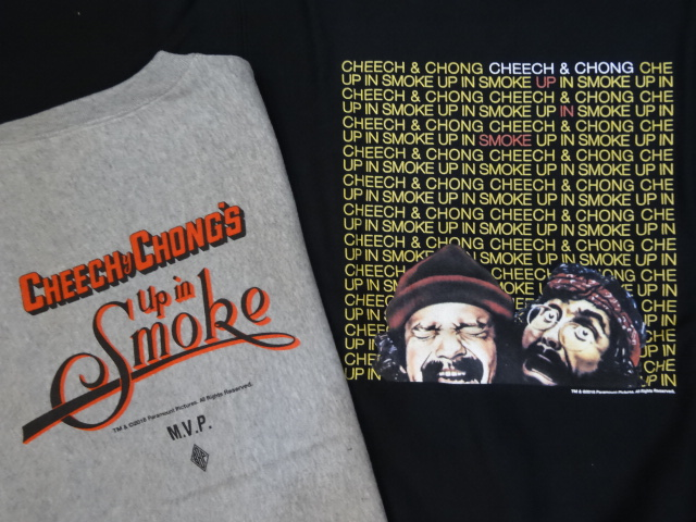 "BBP x Cheech & Chong x M.V.P. ""King of the Stoners"" Crewneck Sweat Shirt!!!_a0221253_16173457.jpg"