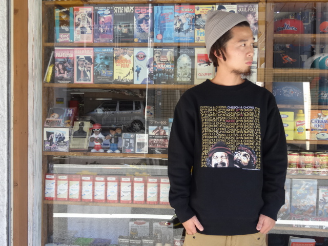 "BBP x Cheech & Chong x M.V.P. ""King of the Stoners"" Crewneck Sweat Shirt!!!_a0221253_16203121.jpg"