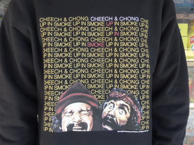 "BBP x Cheech & Chong x M.V.P. ""King of the Stoners"" Crewneck Sweat Shirt!!!_a0221253_1626248.jpg"