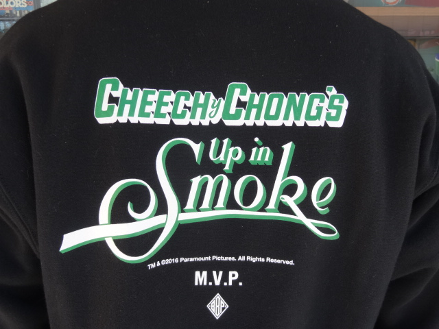 "BBP x Cheech & Chong x M.V.P. ""King of the Stoners"" Crewneck Sweat Shirt!!!_a0221253_16302954.jpg"