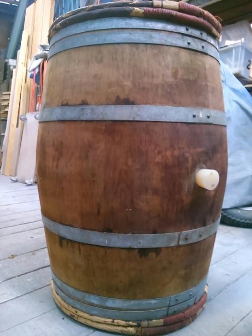 < ワイン樽から和吉板へ… > その2_d0351396_13032725.jpg