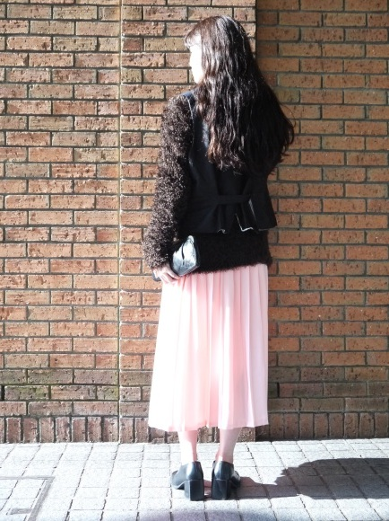 london girl & parisienne 〜knit with color bottom〜_f0335217_12435034.jpg