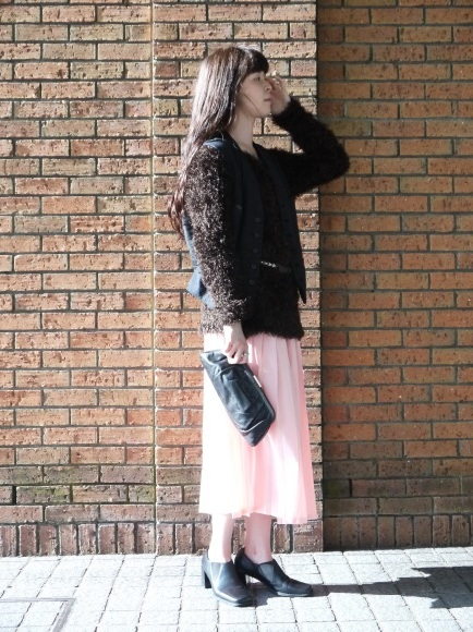 london girl & parisienne 〜knit with color bottom〜_f0335217_12441471.jpg
