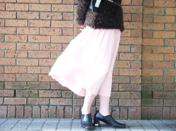 london girl & parisienne 〜knit with color bottom〜_f0335217_12462145.jpg