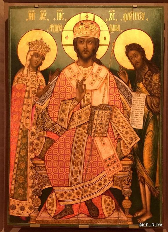 ロシアの旅 24 トレチャコフ美術館 Ⅲ イコン_a0092659_19135593.jpg