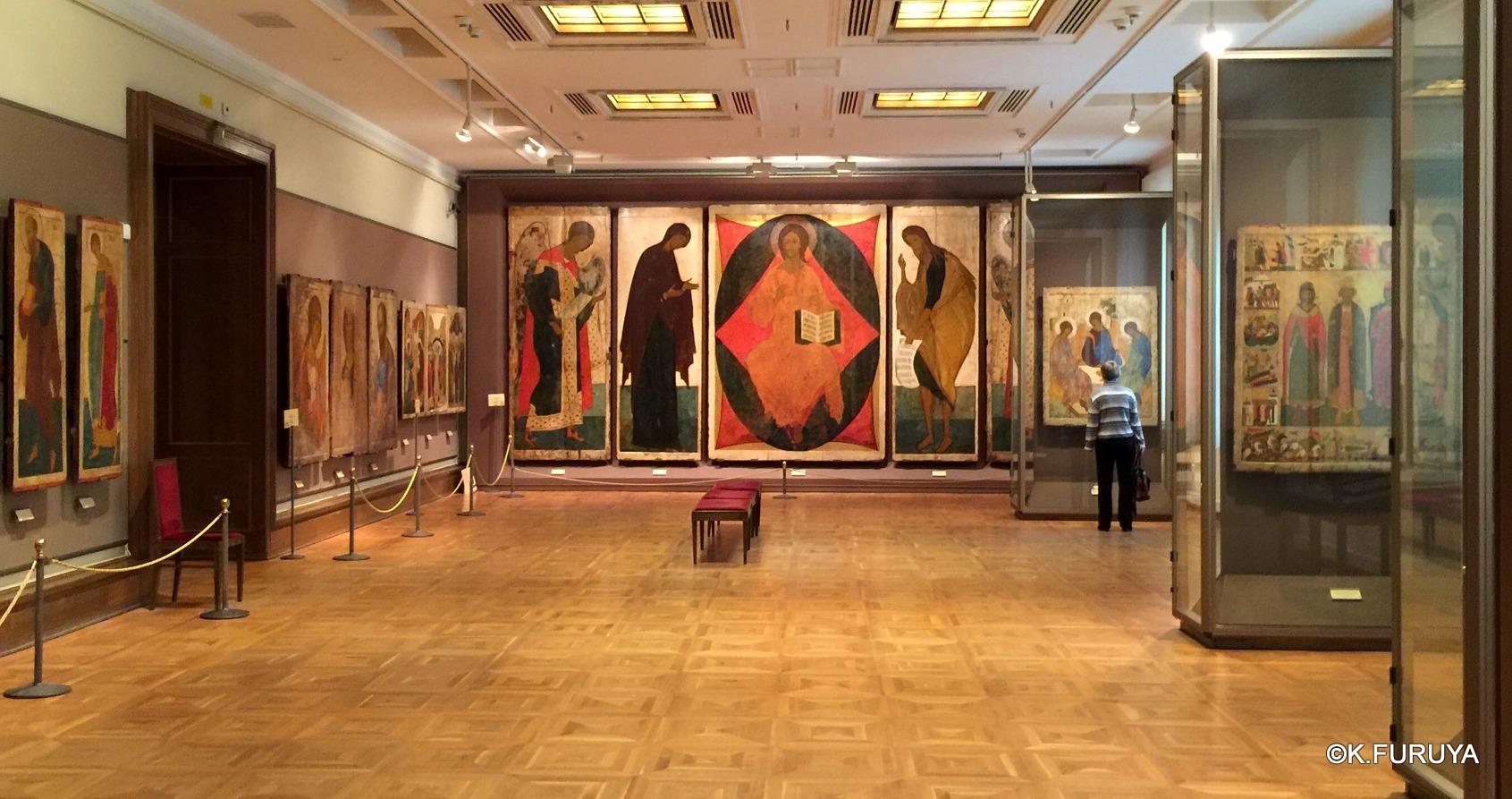ロシアの旅 24 トレチャコフ美術館 Ⅲ イコン_a0092659_19151023.jpg