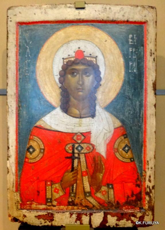 ロシアの旅 24 トレチャコフ美術館 Ⅲ イコン_a0092659_19472700.jpg