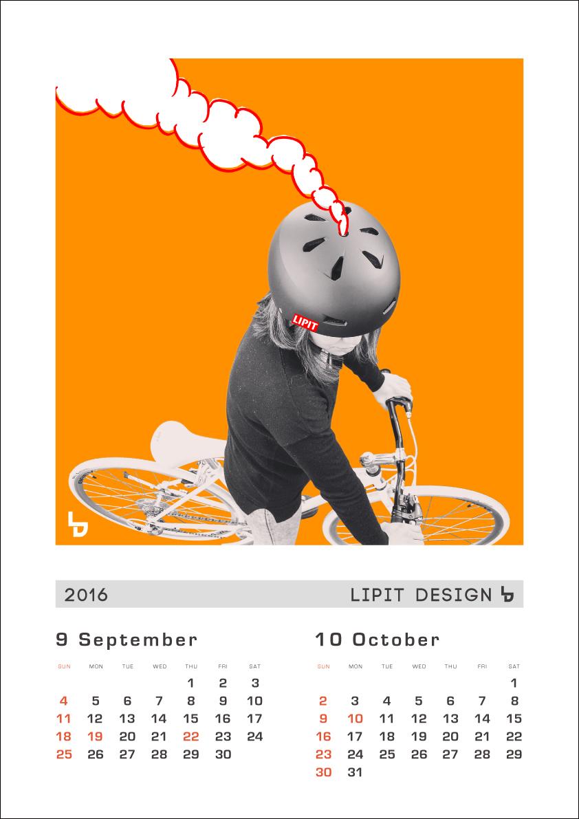 リピトオリジナルカレンダー「LIPIT DESIGN」おしゃれ自転車 リピトデザイン 自転車グッズ オシャレ自転車_b0212032_16175177.jpg