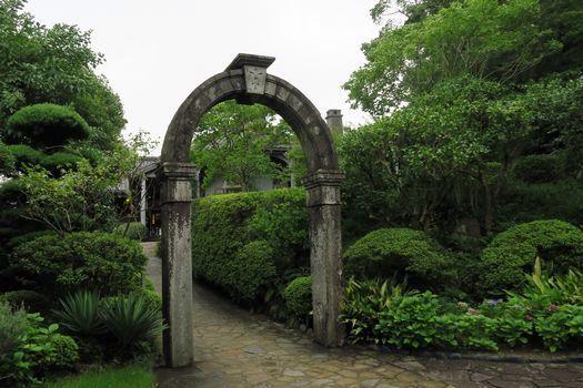 グラバー園 ⑥日本最古の木造洋風建築 旧グラバー住宅 重文_c0134734_18545048.jpg