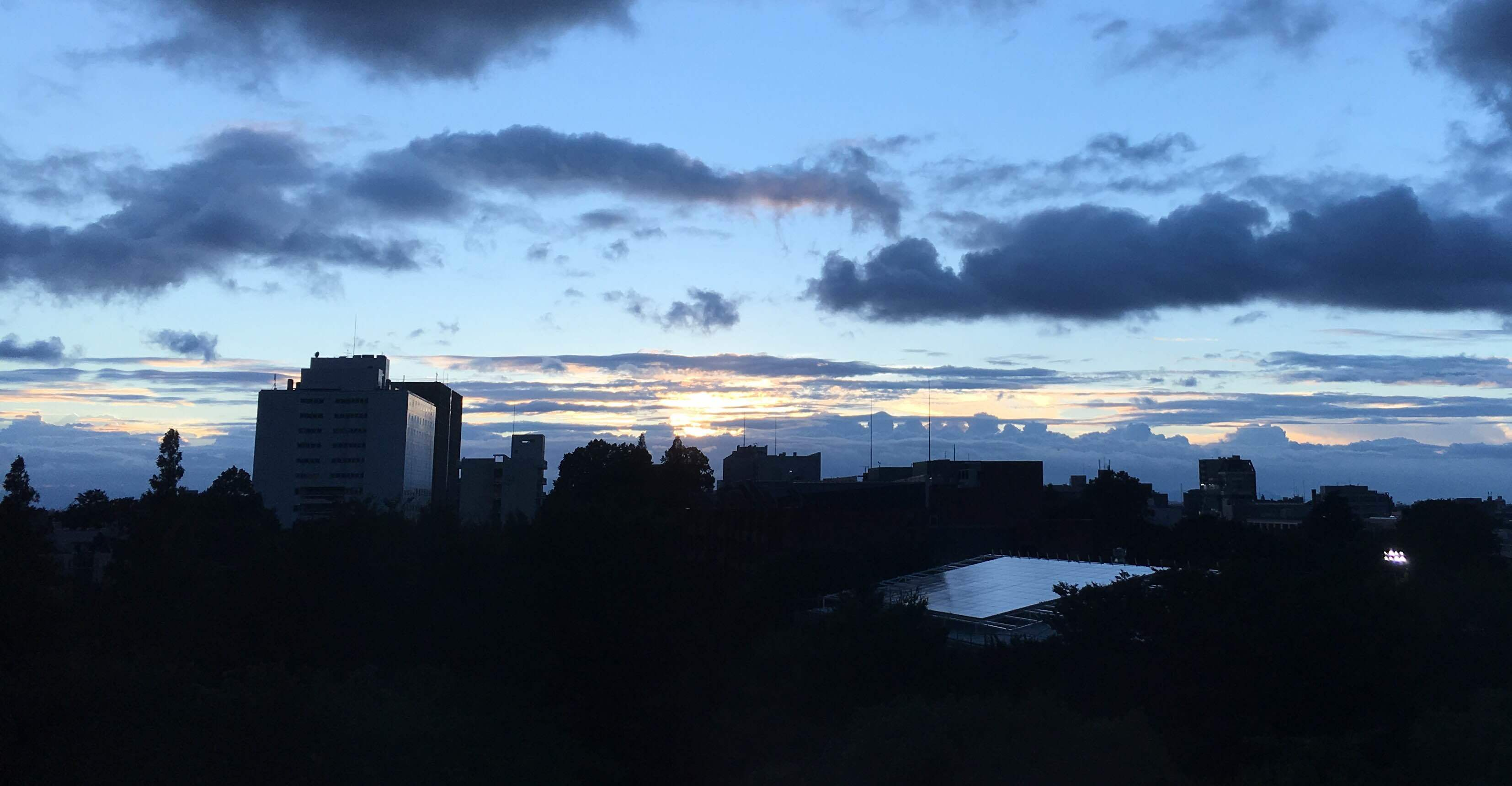《空と雲》秋の気配、それから…虹のギフト*゚:+.。☆_b0298740_13371323.jpg