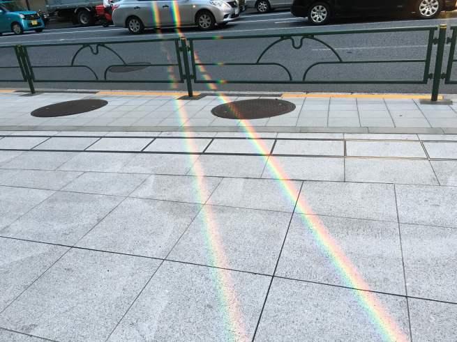 《空と雲》秋の気配、それから…虹のギフト*゚:+.。☆_b0298740_14170303.jpg