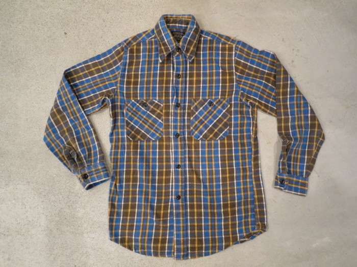 Vintage JCPenney Flannel S スモールサイズ ヴィンテージ ネルシャツ_e0187362_11101447.jpg