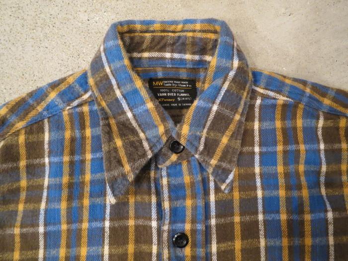 Vintage JCPenney Flannel S スモールサイズ ヴィンテージ ネルシャツ_e0187362_11114053.jpg