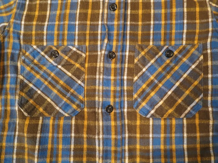 Vintage JCPenney Flannel S スモールサイズ ヴィンテージ ネルシャツ_e0187362_11121128.jpg