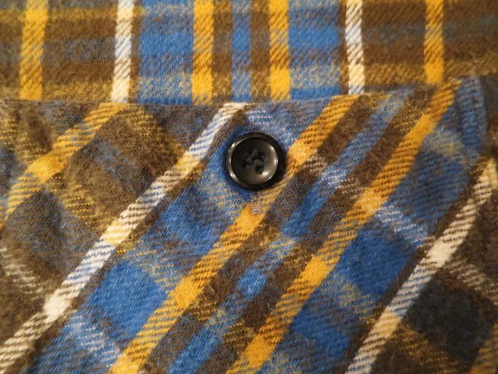 Vintage JCPenney Flannel S スモールサイズ ヴィンテージ ネルシャツ_e0187362_11122774.jpg