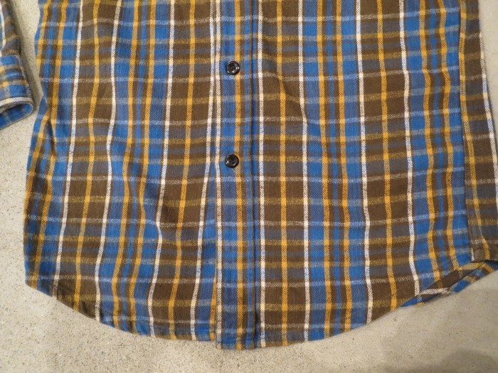 Vintage JCPenney Flannel S スモールサイズ ヴィンテージ ネルシャツ_e0187362_11124470.jpg