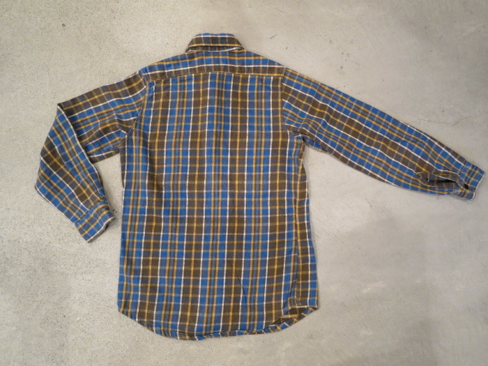 Vintage JCPenney Flannel S スモールサイズ ヴィンテージ ネルシャツ_e0187362_11134104.jpg