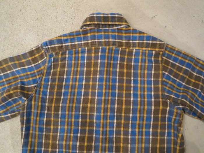 Vintage JCPenney Flannel S スモールサイズ ヴィンテージ ネルシャツ_e0187362_11135812.jpg