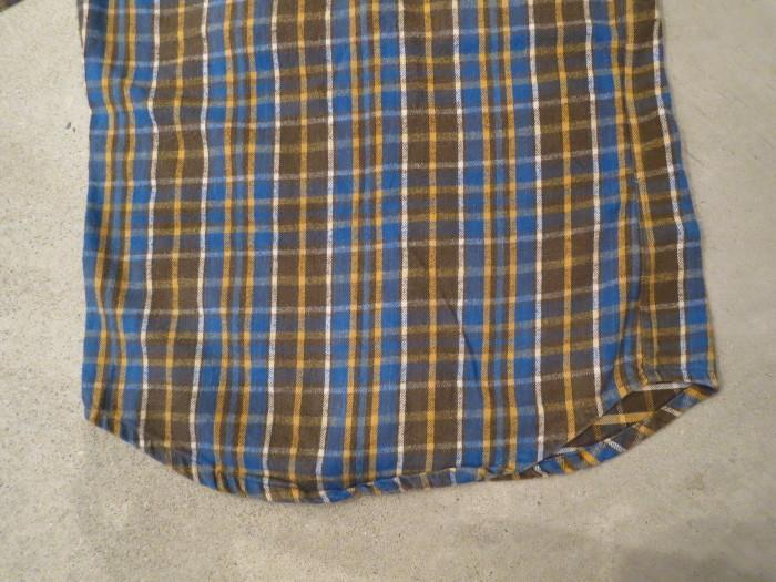 Vintage JCPenney Flannel S スモールサイズ ヴィンテージ ネルシャツ_e0187362_11145771.jpg