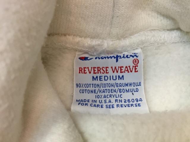 9月3日(土)大阪店スーペリア入荷!!#8 Champion Reverse Weave編!!(大阪アメ村店)_c0078587_22162826.jpg