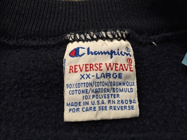 9月3日(土)大阪店スーペリア入荷!!#8 Champion Reverse Weave編!!(大阪アメ村店)_c0078587_22363425.jpg