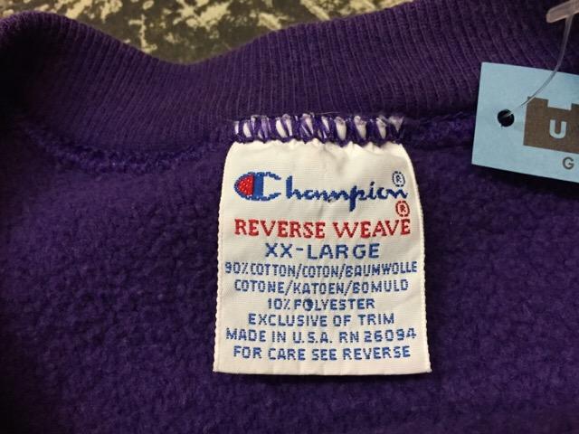 9月3日(土)大阪店スーペリア入荷!!#8 Champion Reverse Weave編!!(大阪アメ村店)_c0078587_2244893.jpg