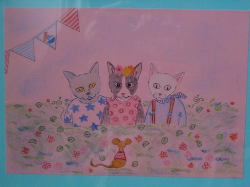 猫を愛する友に贈る … 三猫一チュー(さんねこいちちゅー)_c0027188_4171573.jpg