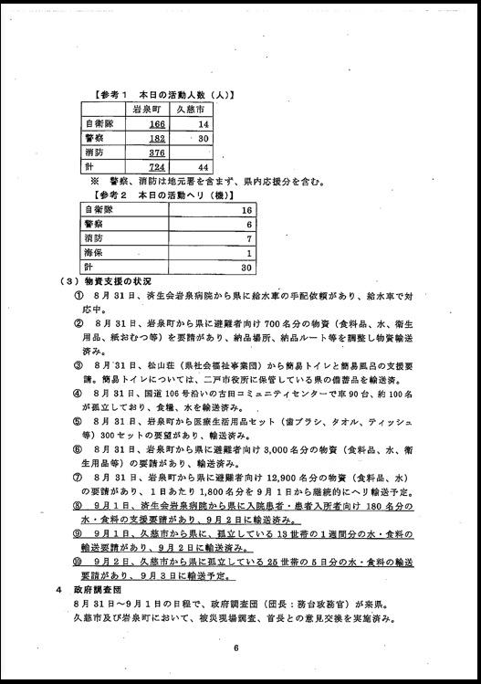 台風10号に伴う岩手県の対応状況について〜9月3日(土)正午現在〜_b0199244_22412562.jpg