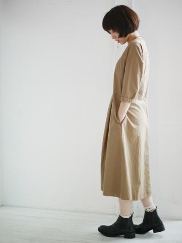 グランマのワンピースとMOTOの革靴。_e0247148_16170459.jpg