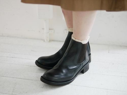 グランマのワンピースとMOTOの革靴。_e0247148_16170465.jpg