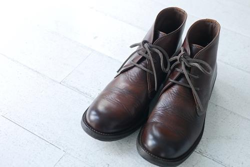 グランマのワンピースとMOTOの革靴。_e0247148_16252111.jpg