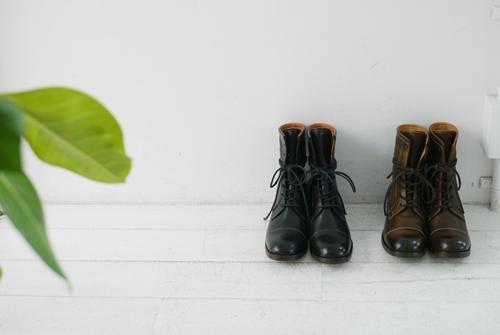 グランマのワンピースとMOTOの革靴。_e0247148_16252205.jpg
