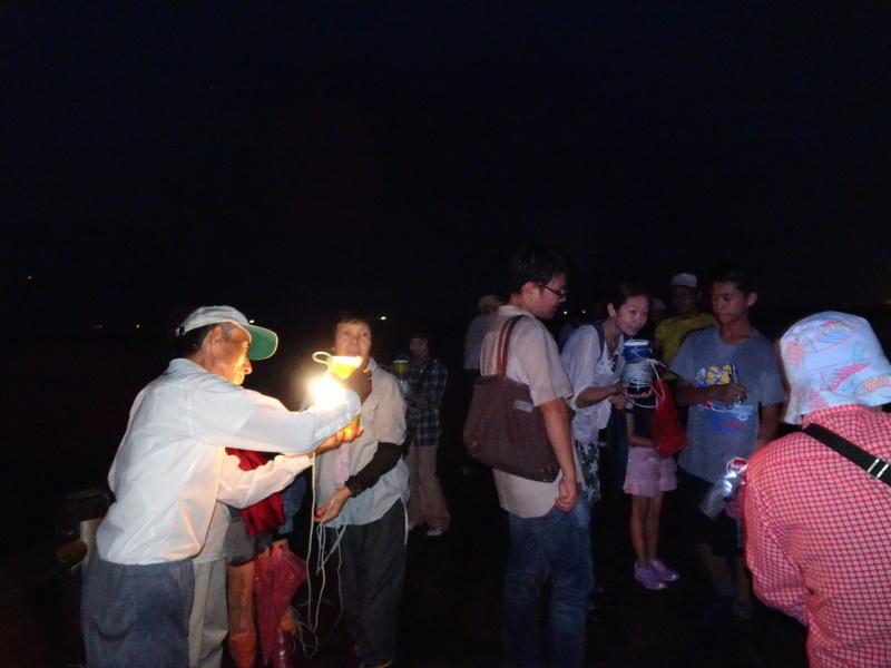 ウミホタル観察会リハーサル・・・せんなん里海公園海岸_c0108460_22331259.jpg