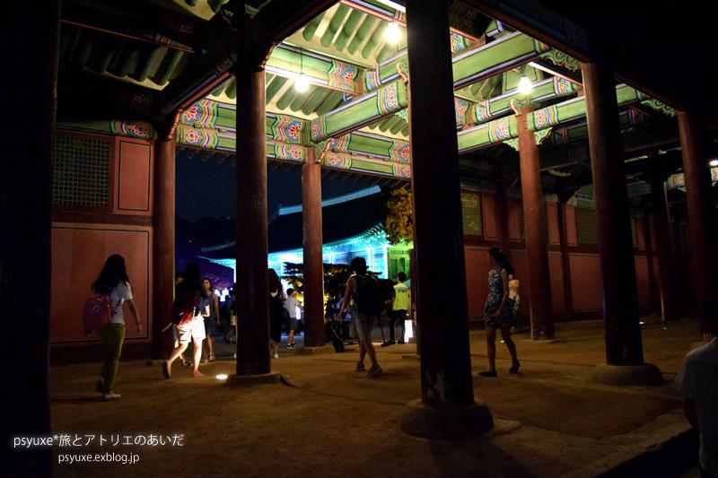 夜間開放期間のライトアップされた景福宮へ行く 2016_e0131432_15250887.jpg