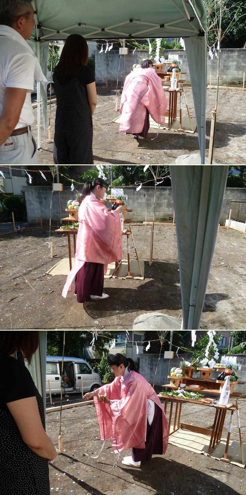 横浜市希望ヶ丘の家☆地鎮祭を執り行いました_c0152341_8234032.jpg