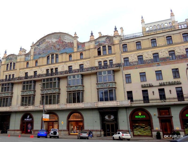 ロシアの旅 25 ホテル・メトロポール @ モスクワ _a0092659_15420005.jpg