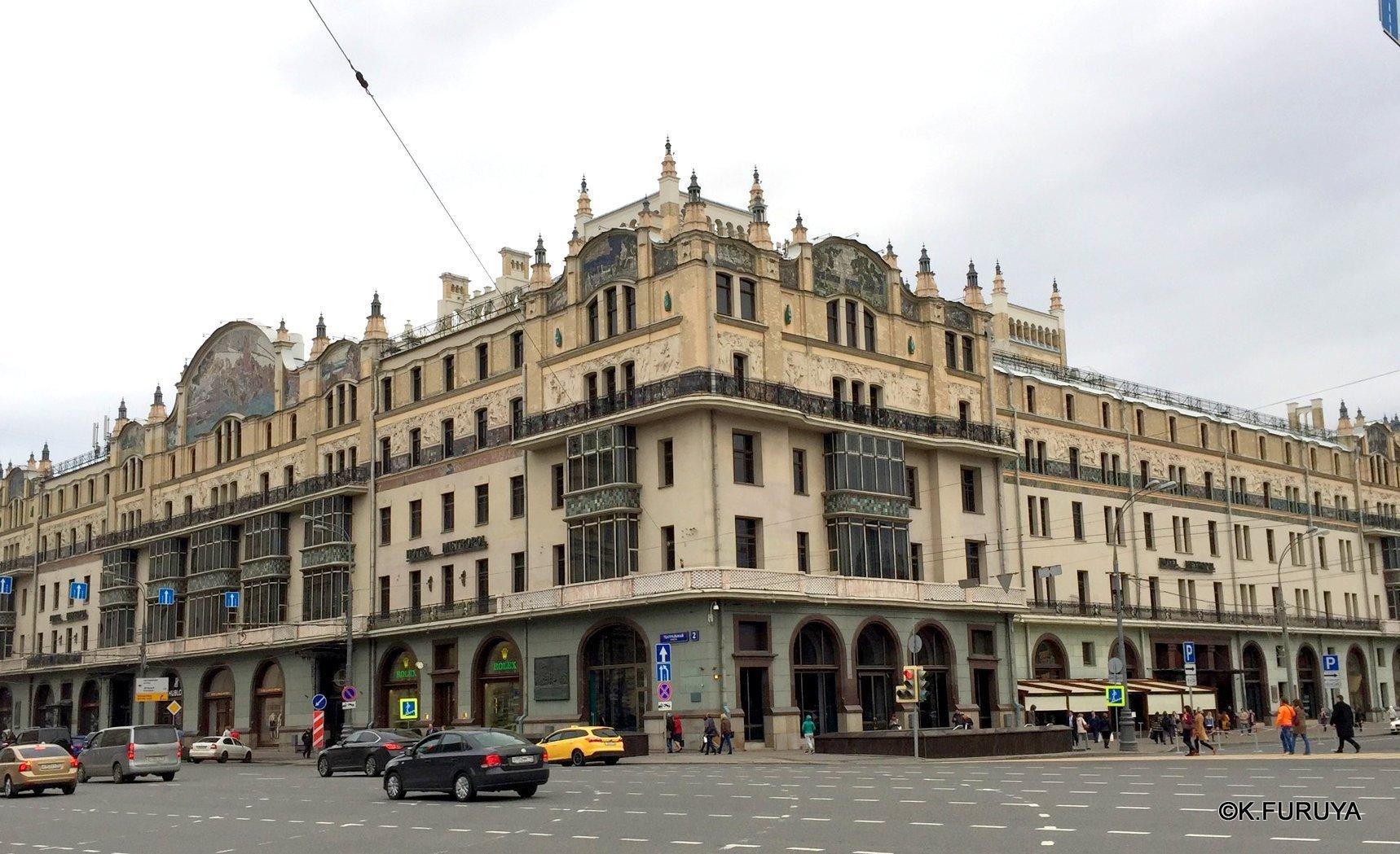 ロシアの旅 25 ホテル・メトロポール @ モスクワ _a0092659_16461048.jpg