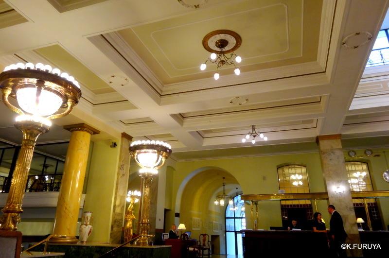 ロシアの旅 25 ホテル・メトロポール @ モスクワ _a0092659_17164663.jpg