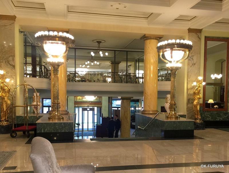 ロシアの旅 25 ホテル・メトロポール @ モスクワ _a0092659_17184221.jpg
