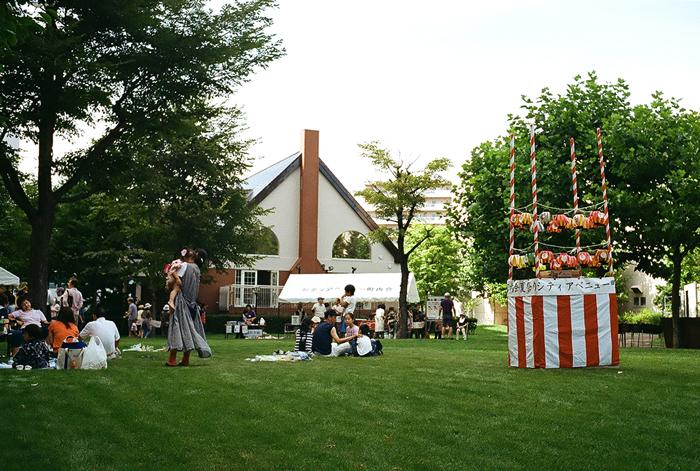 先週のマンション夏祭り_c0182775_16463453.jpg