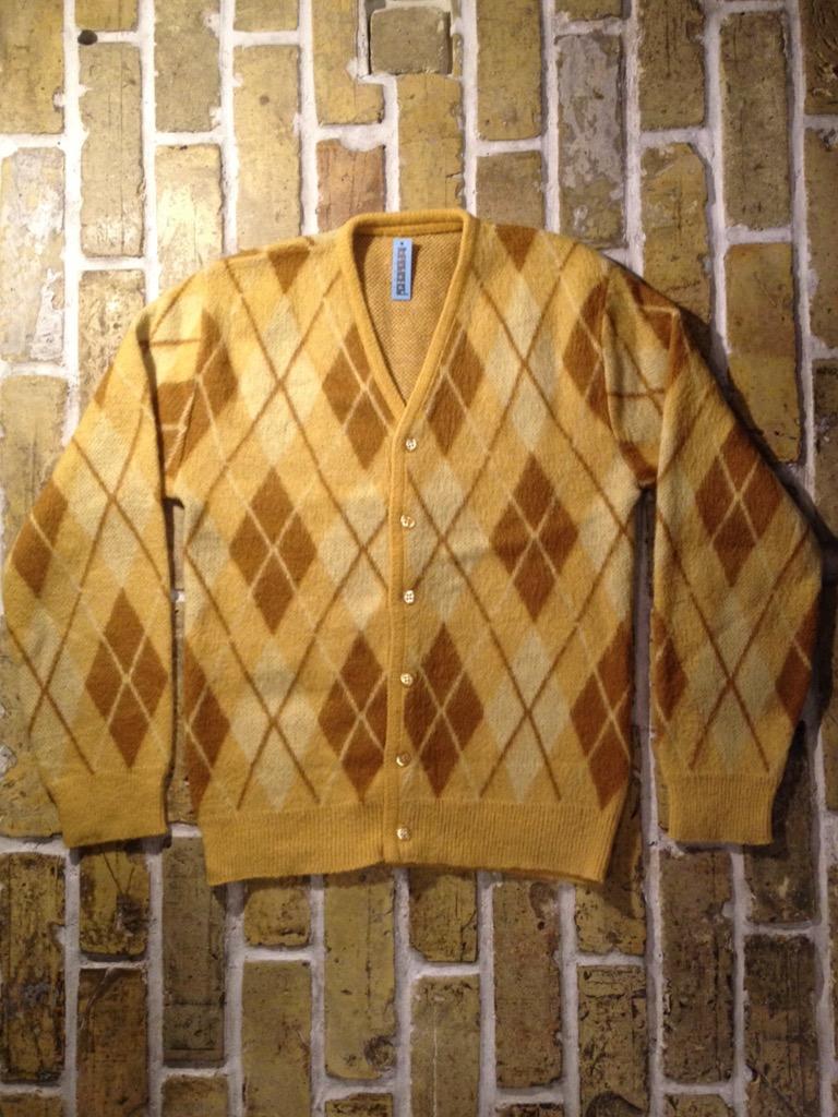 神戸店9/7(水)秋冬ヴィンテージ入荷!#3 Vintage Mohair Cardigan!!! _c0078587_16133782.jpg
